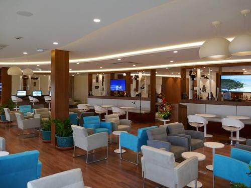Air Tahiti Nui Lounge, Papeete Faaa International, French Polynesia