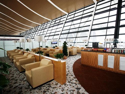First Class Lounge (No. 66), Shanghai Pudong Intl