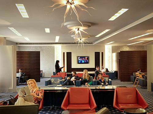 Business Class Lounge, Sharjah International, UAE