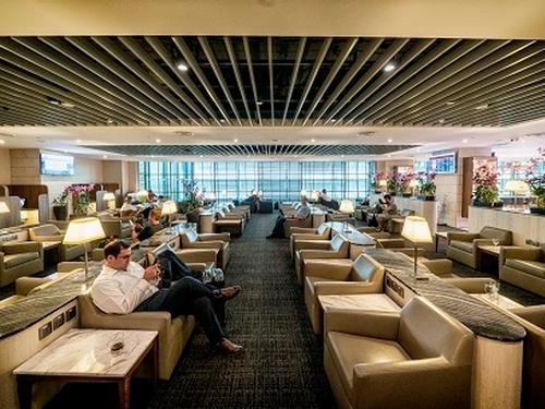 SATS Premier Lounge, Singapore Changi International, Singapore