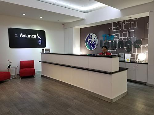 Avianca operated by Global Lounge, San Juan Intl, Puerto Rico