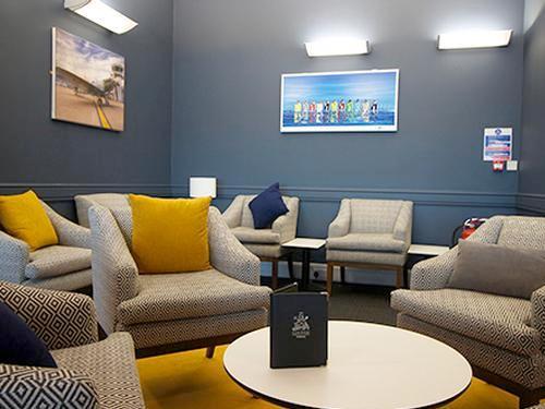 Priority Lounge, Southampton International, UK