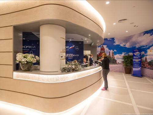 Moscow lounge, Moscow Sheremetyevo, Russia