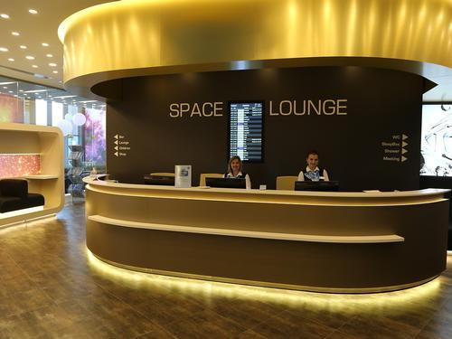 Space Lounge, Moscow Sheremetyevo