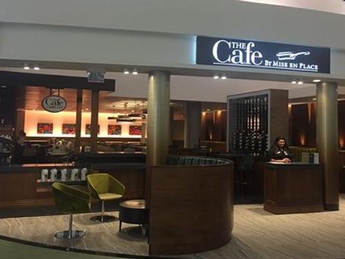 The Café by Mise en Place, Tampa FL Intl, USA