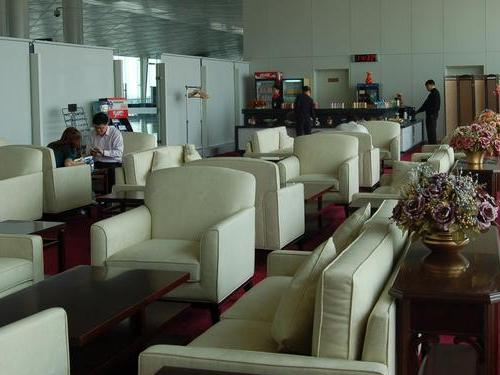 First Class Lounge (No.2), China Tianjin Binhai International Airport