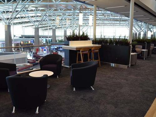 Aspire Lounge International Departures , Calgary International