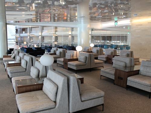 Skyteam Kal Business Class Lounge Tom Bradley International LAX