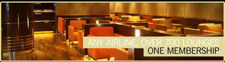 Any Airline, 700 Lounges, One Membership