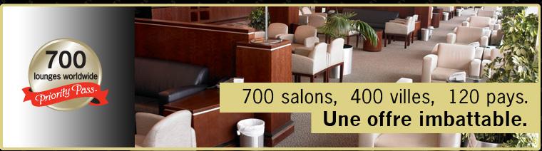 700 salons, 400 villes, 120 pays. Une offre imbattable.