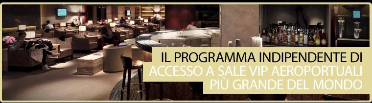 Il programma indipendente di accesso a sale VIP aeroportuali più grande del mondo.