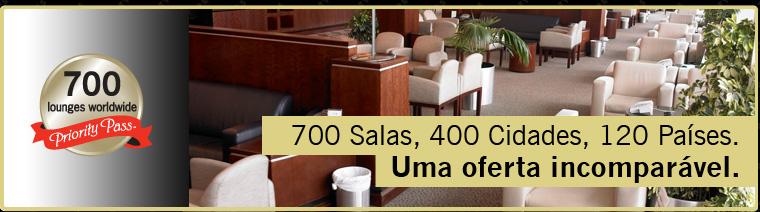700 Salas, 400 Cidades, 120 Países. Uma oferta incomparável.
